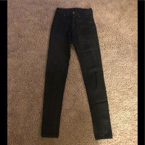 Black Wax Carmar Skinny Jeans Size 23